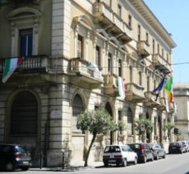 Il Palazzo da ristrutturare di Via Malta.